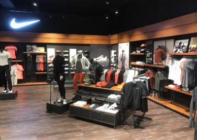 Golfclubs voor de Nike Store